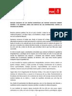 Moción PSOE-IU contra la violencia genero