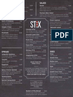 Stix Menu - New York