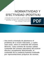 Diapo 2normatividad y Efectividad (Positiva).