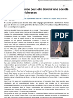 La Tribune_Isaac Getz_Comment la France peut être génératrice de richesses