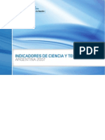 Indicadores de Ciencia y Tecnología Argentina 2007
