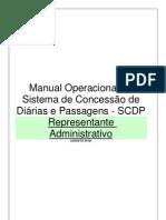 Manual Do Representante Administrativo Do SCDP