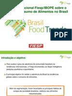 Pesquisa Fiesp Ibope-perfil Do Consumo Alimentos Brasil
