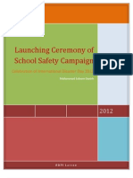 Report on School Safety Compaign & DRR Day 2012 (RDPI)