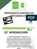 Propuesta Centro de Estudios E3T