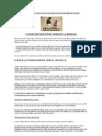 5 Consejos Para Perde Grasa de La Barriga (Kaneda_da)