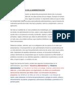ETAPAS ESPECIFICAS DE LA ADMINISTRACIÓN