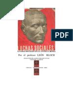 León Bloch - Luchas Sociales en la Antigua Roma