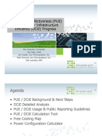 How to Measure and Report PUE and DCiE