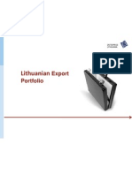 lithuanian export portfolioel
