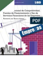 Reporte de La ENAFIN