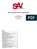 Contour Cutting Guide in Photoprint 6