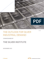 The Outlook For Silver Industrial Demand
