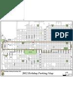 City of Sacrameto's 2012 Holiday Parking Map