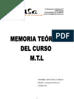 Memoria Teorica Gio Completa