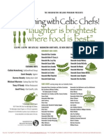 An Evening with Celtic Chefs