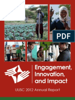2012 — Engagement, Innovation, and Impact