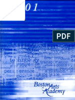 2001 Boston Arts Academy Yearbook