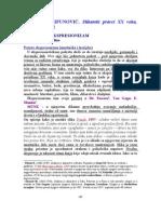 4a) Ekspresionizam (Most, Plavi Jahac, Nova Objektivnost)