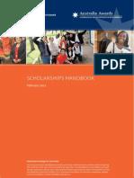 Scholarships Handbook 2013