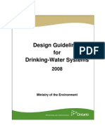 Design Guidelines for Drinking Water Systems