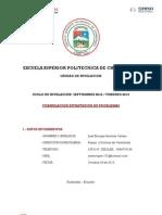 Escuela Superior Politecnica de Chimborazo Proyectos