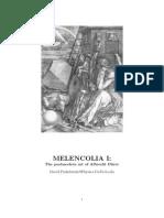 David R. Finkelstein - 2006 - Meloncholia I - The Post Modern Art of Durer 060306