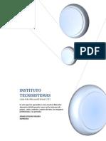 Bienvenido Al Instituto Tecnisistemas