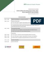 Programa Barómetro 2012 Perú