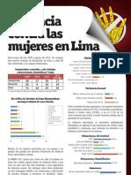 Violencia contra las mujeres en Lima