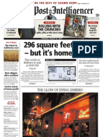 296 square feet – but it's home