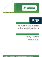 Policy Platform Brochure