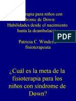 Pat Winders - Physical Therapy for Children With Down Syndrome - Spanish