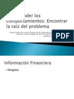 Dr. Lina Patel - Understanding Problem Behaviors - Spanish