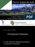 Dr. Norman Friedman - Down Syndrome and Sleep Apnea - Spanish