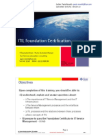 ITIL Foundation Certification