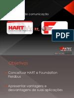 Apresentação - HART vs. Foundation Fieldbus