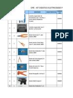 Investimentos Eletricidade Predial 2012