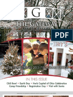 2013 Winter/Spring 'The Gateway' Gahanna Parks & Recreation Program Guide