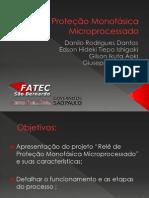Relé de Proteção Monofásica Microprocessado
