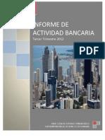 Informe de Actividad Bancaria