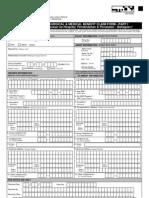 Hospital Surgical Medical Benefit Claim Form