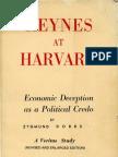 Zygmund Dobbs, Keynes At Harvard (1962)