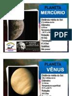 planetário placas