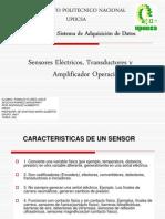 Amplificadores, Transductores y Sensores