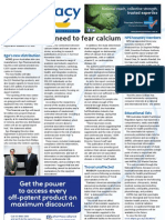 Pharmacy Daily for Tue 27 Nov 2012 - Warfarin hemorrhage risk, Calcium all-clear, Board evaluation, Educational lists and much more...