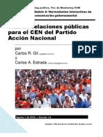 Plan de RP para Acción Nacional