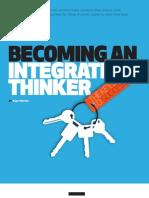 Becoming an Integrative Thinker