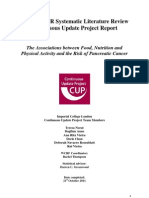 Pancreatic Cancer Report 2011