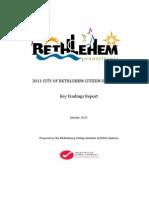 City of Bethlehem Citizen Survey